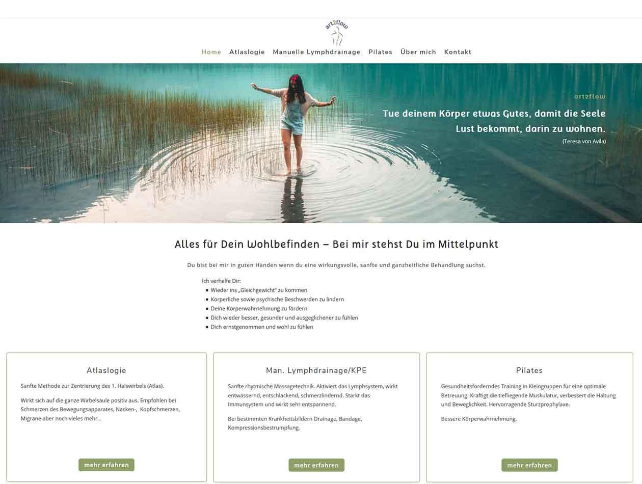 DHdesign Webseite Manuela Krah